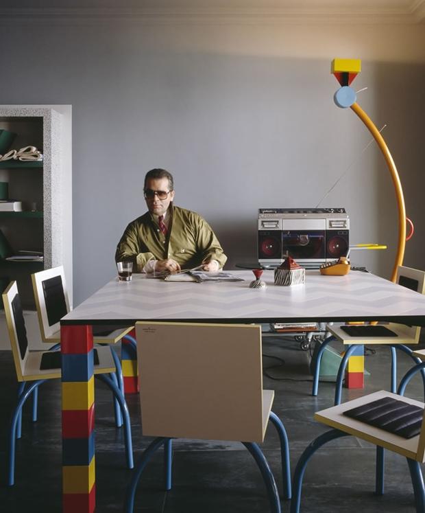 Decoração do apartamento de Karl Lagerfild