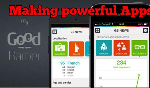 Create app, making app, Android app, app development.