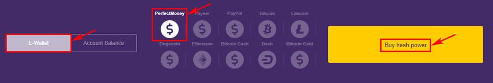 Создание депозита в BlockchainInvestment LTD 2