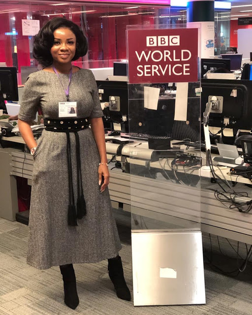I Will Apply Brief Experience At BBC To Become An Amazing Journalist - Serwaa Amihere