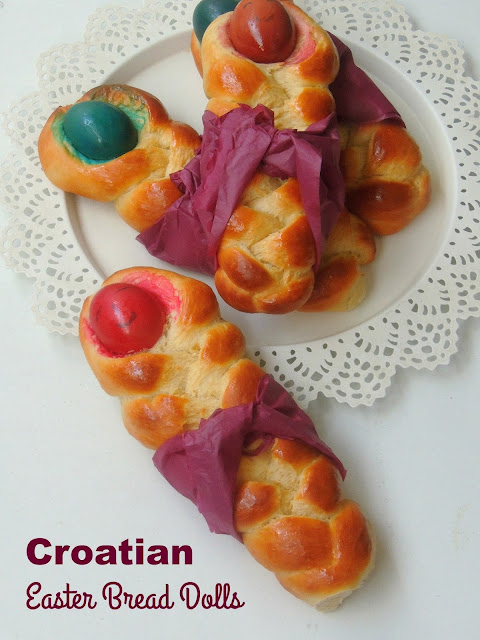 Croatian Easter Bread Dolls,Croatian Easter Babies