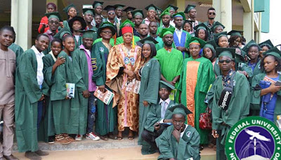 FUNAI Matriculates Over 2, 000 Students For 2017/2018 Academic Session