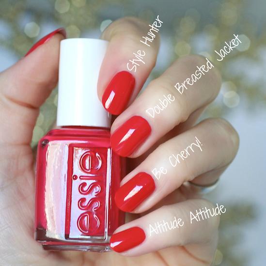 Cherry Red Nail Polish Essie