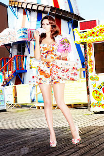 Kelly Brook, Summer 2012 New Look Collection