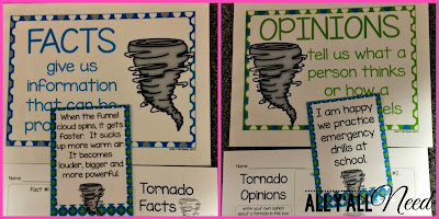 Tornado Fact & Opinion by All Y'all Need