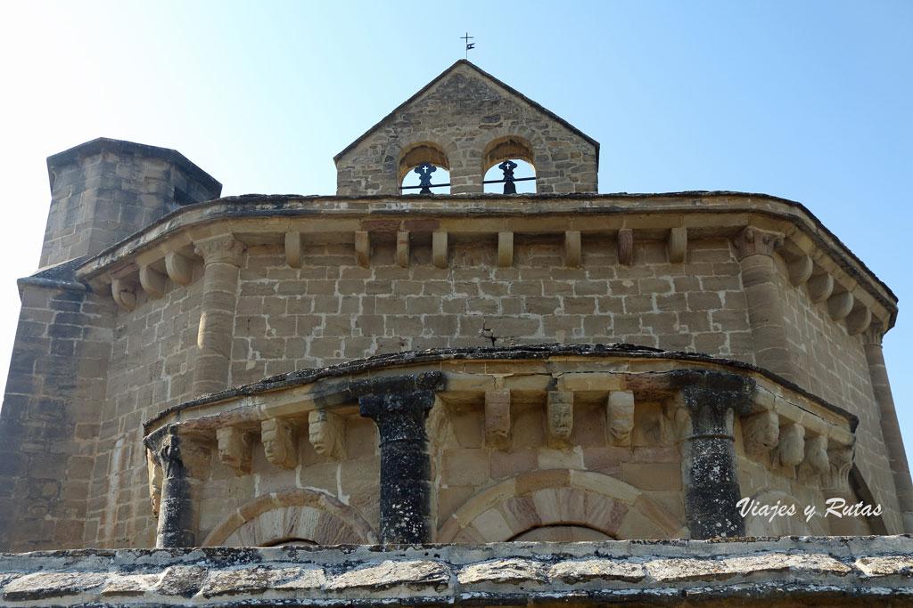 Detalles de la Ermita de Santa María de Eunate de Navarra
