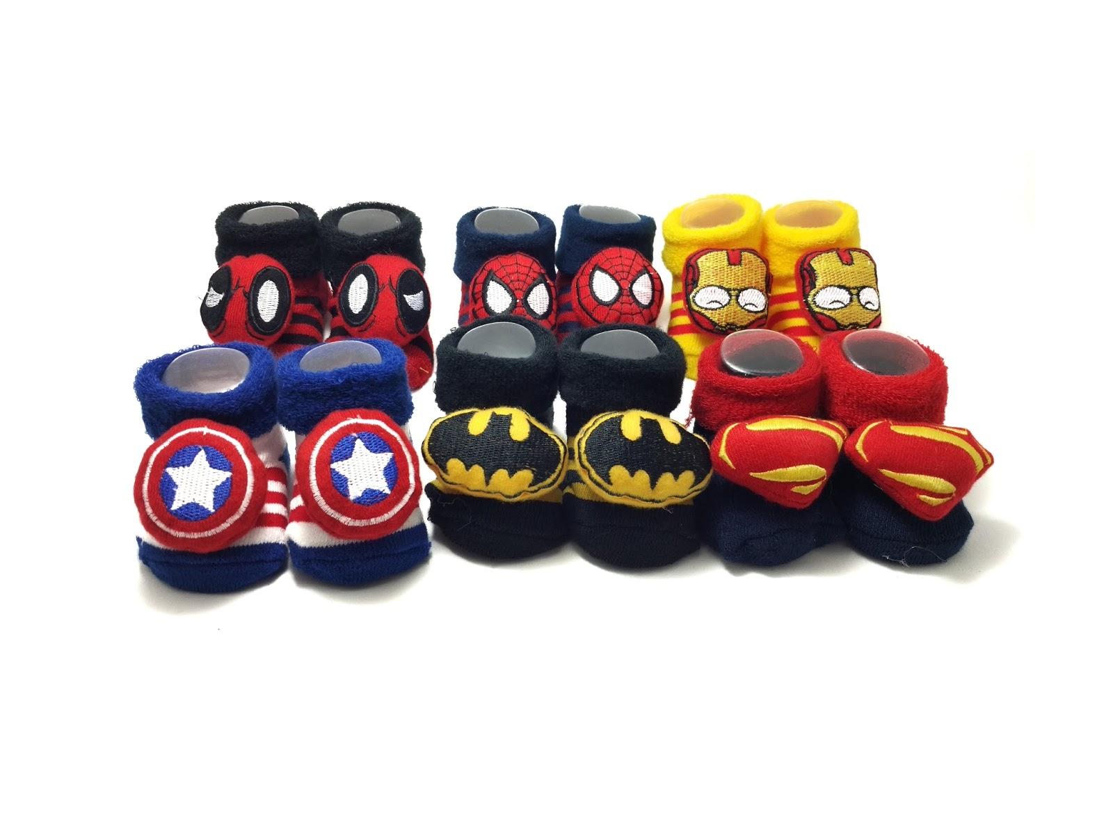Kaos kaki bayi Superhero
