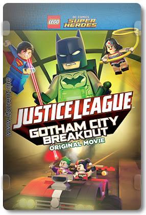 Lego Liga da Justiça: Fuga em Massa em Gotham City