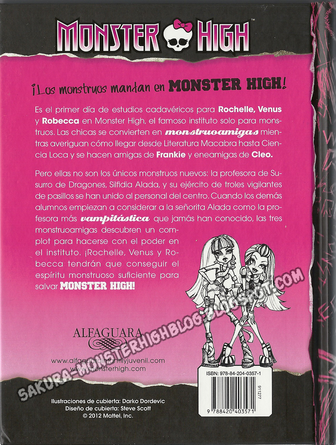Monster High Libros Monster High Los Regalos De Monstruobloggeras