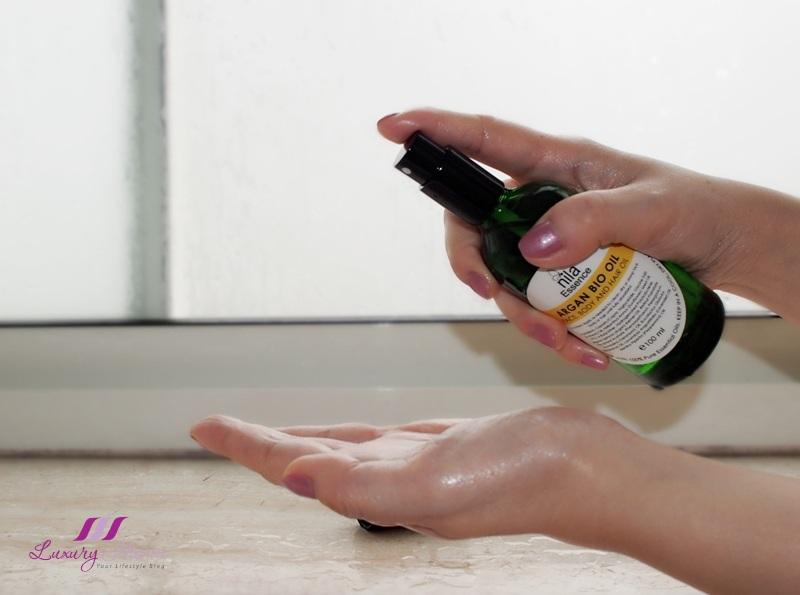 nila essence tranquil argan bio oil review