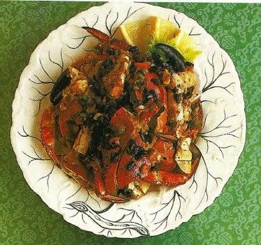 Granchio alla cantonese in salsa di fagioli neri cucina for Una salsa da cucina cinese
