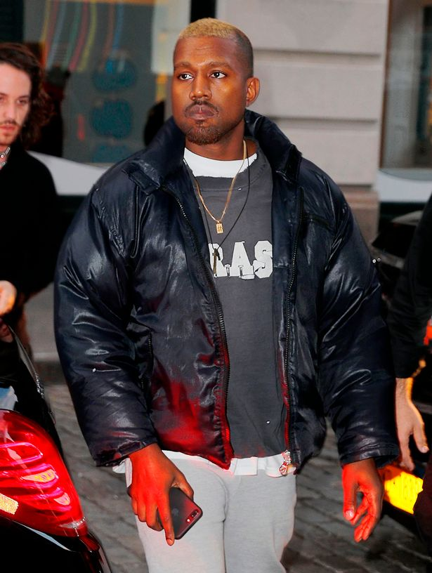 Excellent Kanye West Steps Out With New Blonde Hairstyle Trendzng Hip Short Hairstyles Gunalazisus