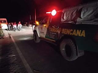Tim BAZNAS TANGGAP BENCANA sesaat begitu gempa terjadi menyisir perkampungan