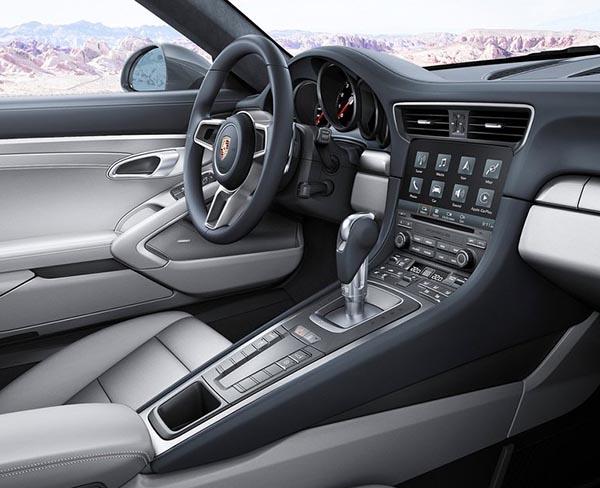 Burlappcar 2019 Porsche 911 Interior