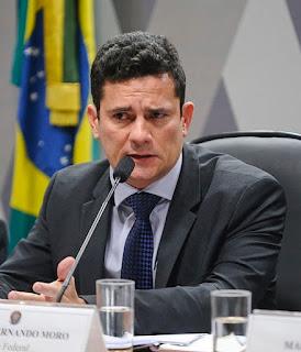 Moro chega escoltado ao depoimento de Lula