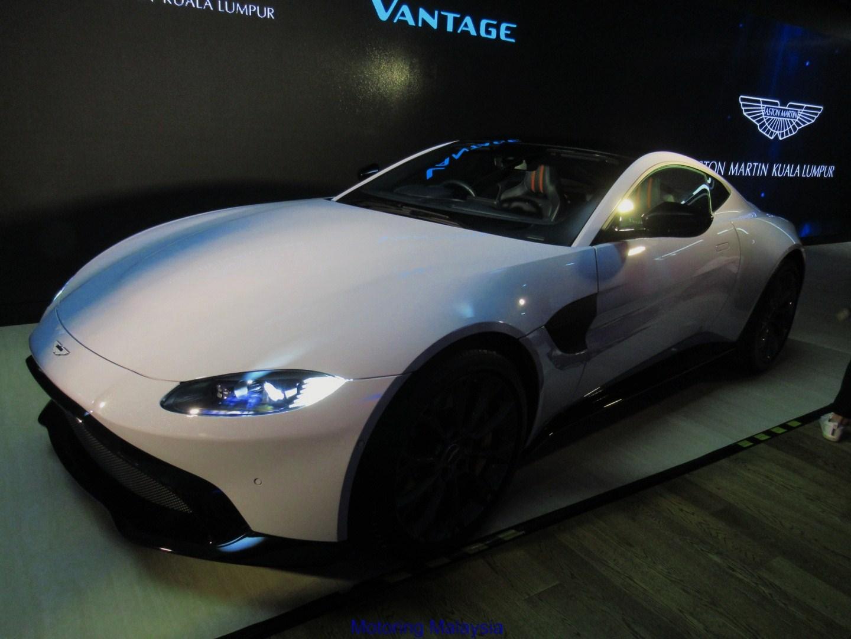 MotoringMalaysia The New Aston Martin Vantage Has Been Unveiled In - Aston martin vantage price used