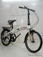3 Sepeda Lipat Fold-X Nagoya 7 Speed Shimano 20 Inci