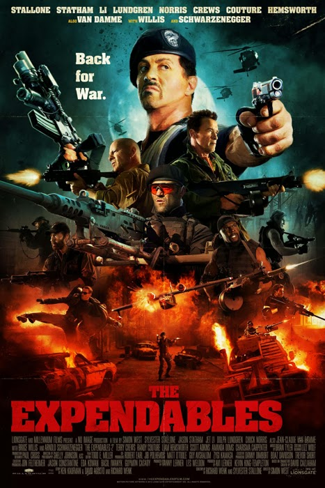 Poster The Expendables 2