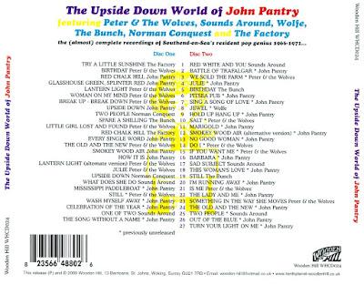 VA - The Upside Down World Of John Pantry  (2009)
