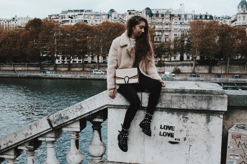 blouson mouton paris octobre 2017 blog mode french fashion blogger