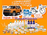 Logo Zymil 50 Anni : vinci 182 buoni Decathlon, bici elettriche e 1 Jeep Renagade