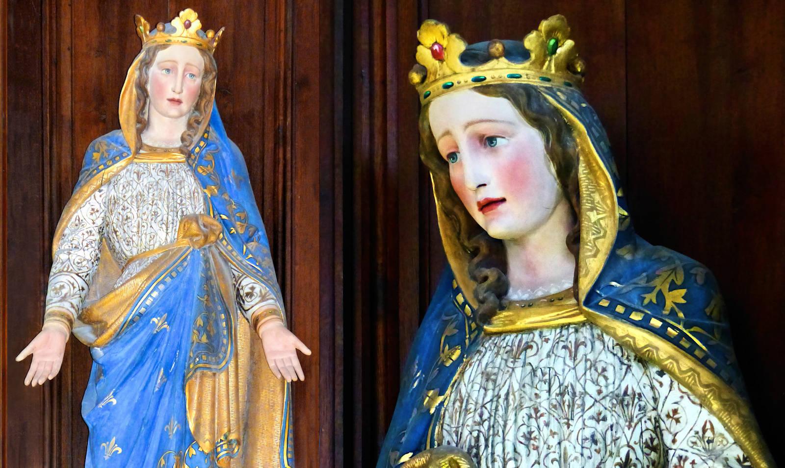 Photo statue Marie - Hospice d'Havré, Tourcoing - Chapelle