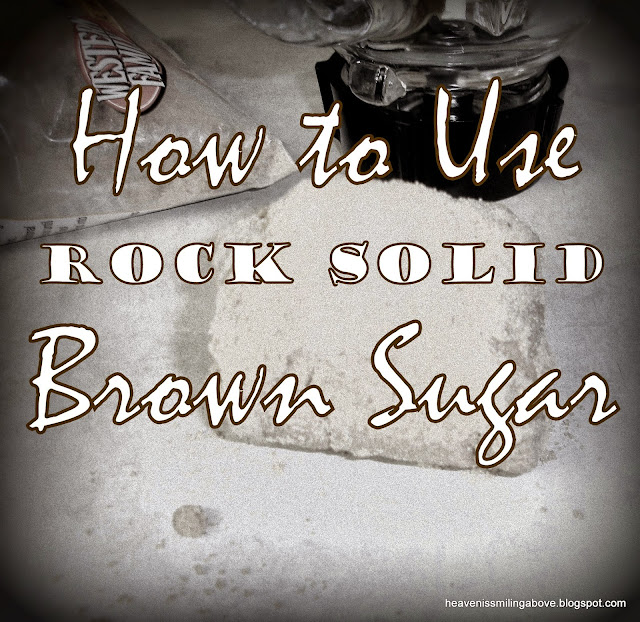 no more rock solid brown sugar heavenissmilingabove.blogspot.com