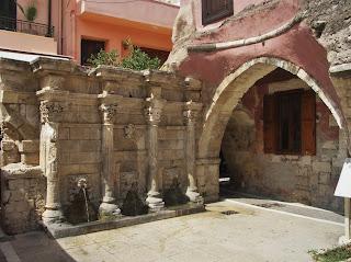 Kreta, Rethymnon, Rethymno, Retimno, Fontanna Rimondi