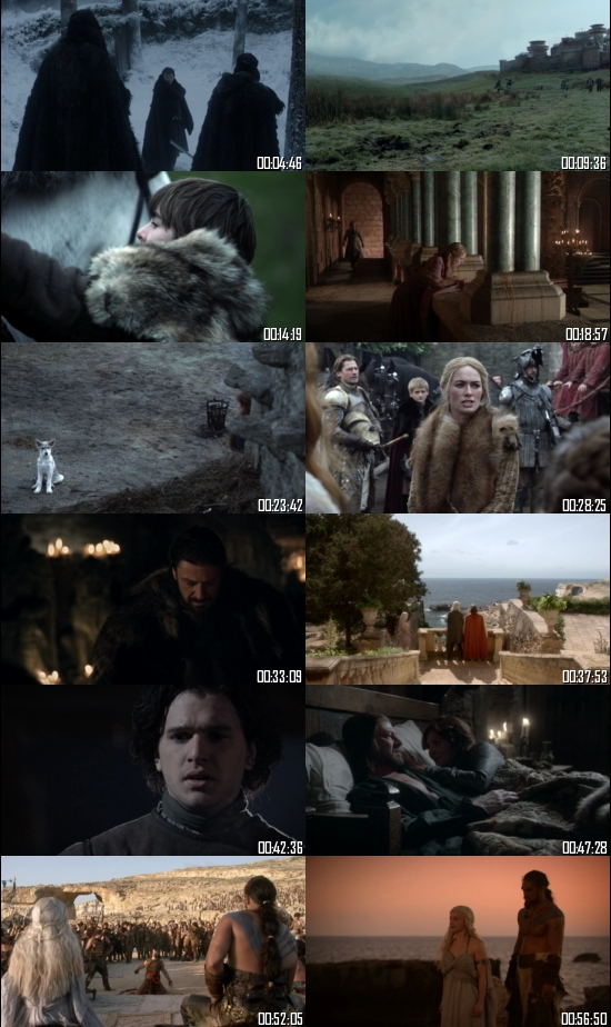 Game of Thrones Season 1 Hindi Complete 720p 480p BluRay All Episodes
