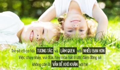 Giúp trẻ tự tin bạo dạn hơn