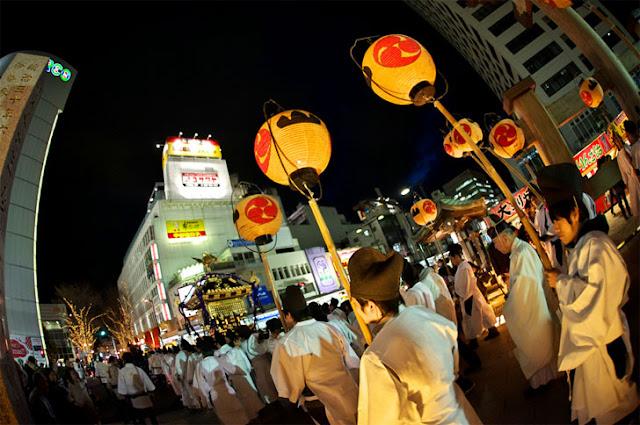 Otariya Festival, 15th December and 15th January, Utsunomiya-City Tochigi