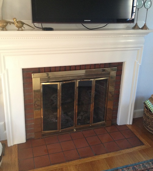 Floor Tile Paint Yes You Can Paint Floor Tiles Here S: Modern Jane: Should I Paint The Hearth?