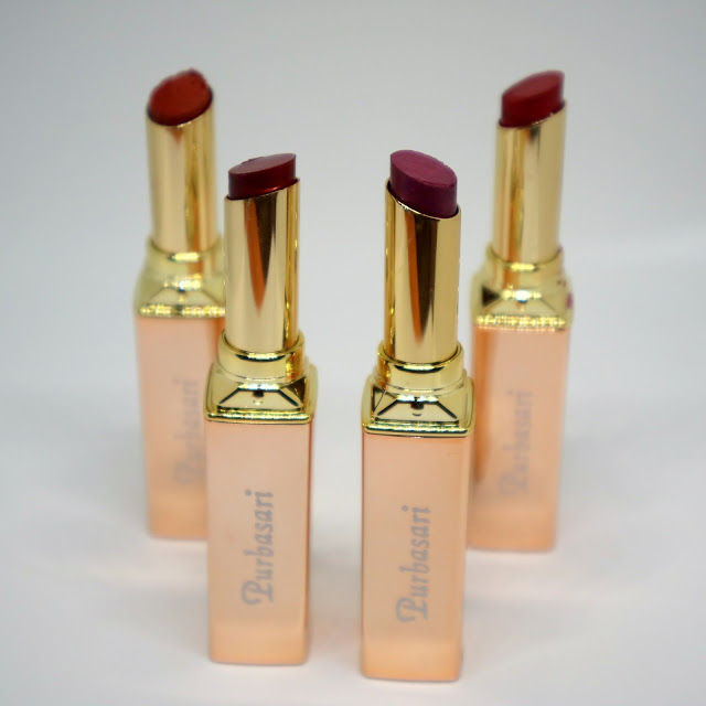 Purbasari Metallic Lipstick & Oil Control Matte Powder Review