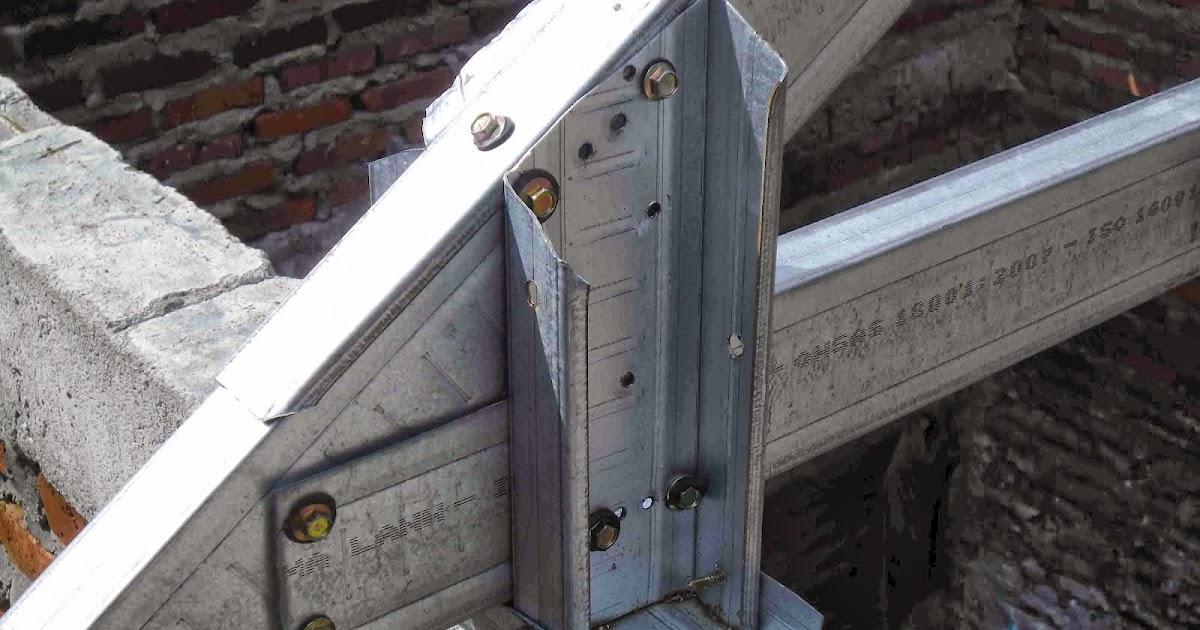 Pemasangan Kudakuda Baja Ringan  Konstruksi Bangunan