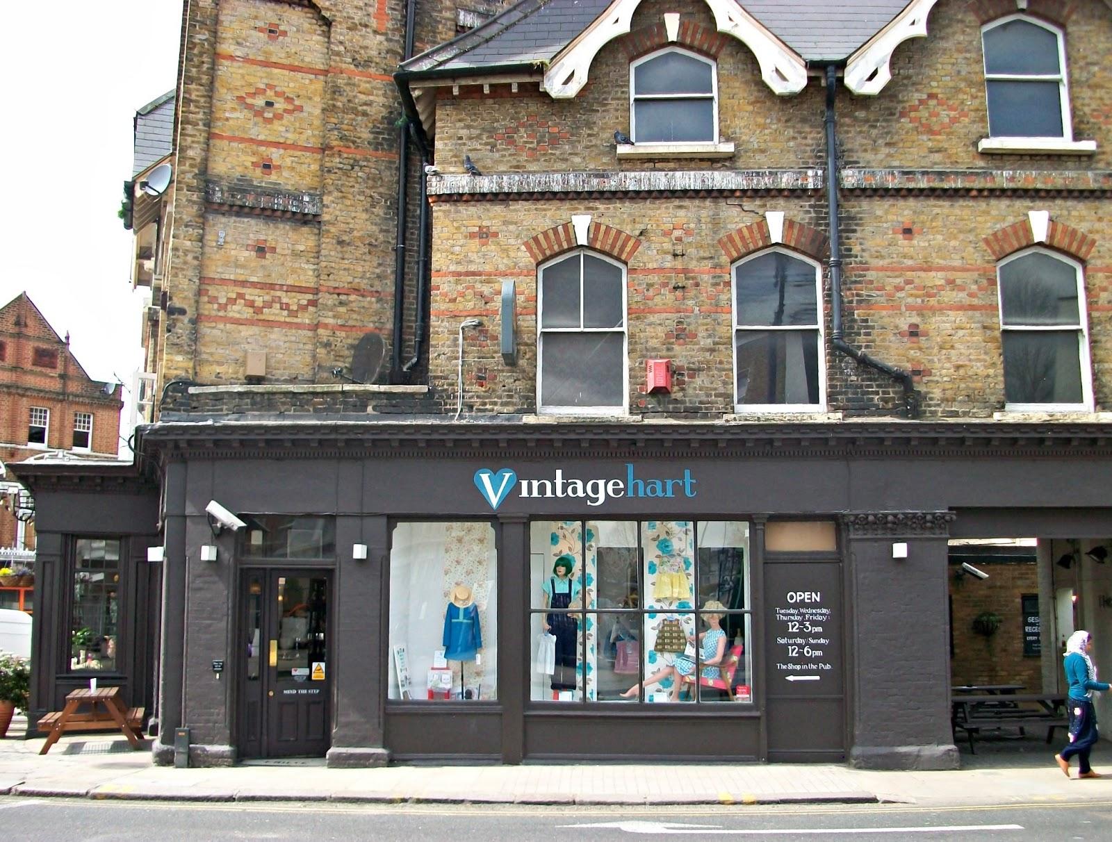 Last-Year Shops: Vintage Hart, Crystal Palace | Last-Year Girl: Last
