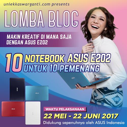 Semakin Produktif dan Kreatif Berkarya Bagi Pekerja Multitasking dengan Asus Notebook E202