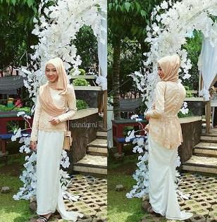 Model Kebaya Modern Muslimah Terbaru untuk pesta
