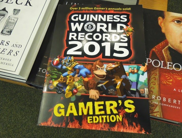 Guinness World Records 2015 Gamers Edition cover