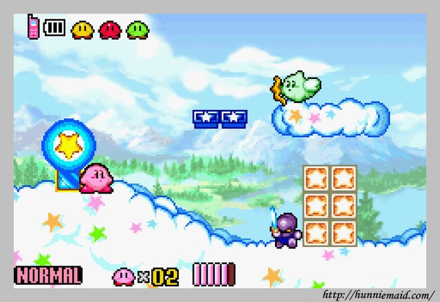 Kirby And The Amazing Mirror Game Boy Rom