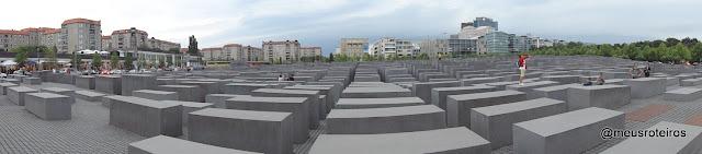 Memorial às Vítimas do Holocausto - Berlim
