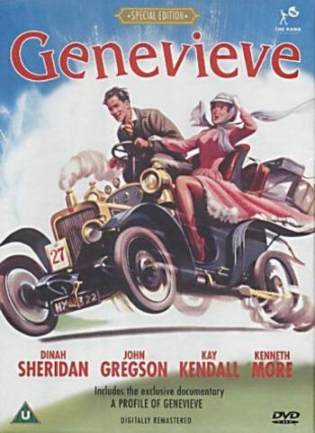 Poster Of Genevieve 1953 Dual Audio 720p BRRip [Hindi - English] Free Download Watch Online