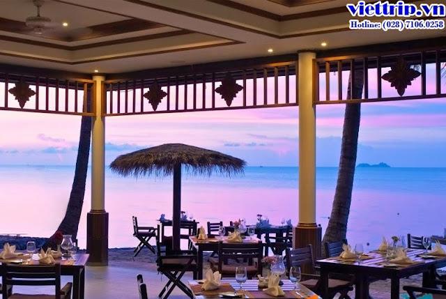 Nhà hàng View biển tại Paradise Vũng Tàu