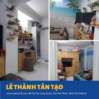 căn hộ 37.5m2 chung cư Lê Thành Tân Tạo quận bình tân