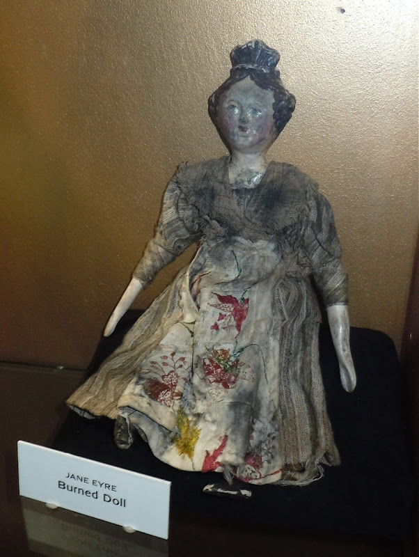 Jane Eyre burned doll prop