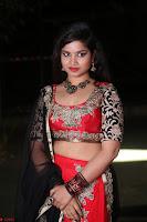 Sirisha Dasari in Red Ghagra Backless Choli ~  016.JPG