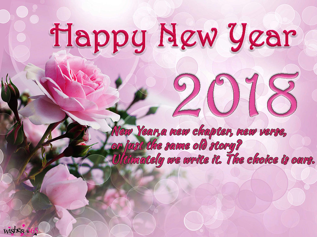 Poetry And Worldwide Wishes Happy New Year Photo 2018 And Quotes
