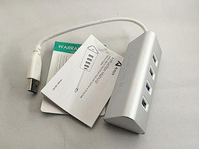 AUKEY USB3.0ハブ