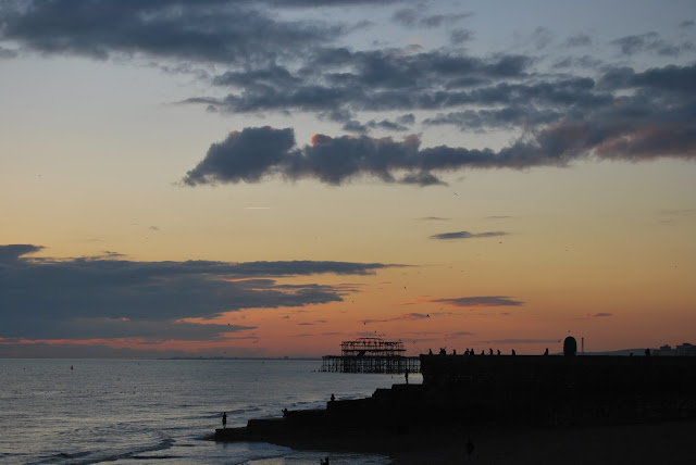 Brighton Pier murmuration 2016, photo by modern bric a brac