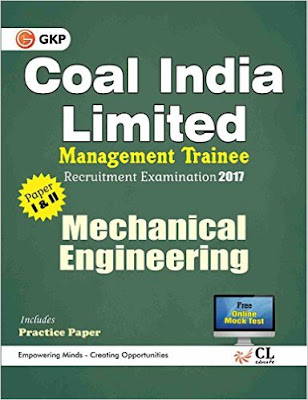 Download Free Coal India Limited Management Trainee Mechanical Engineering 2017 Book PDF