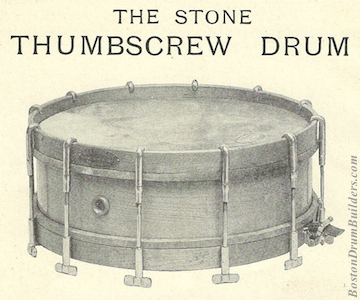Geo. B. Stone & Son Thumbscrew Drum